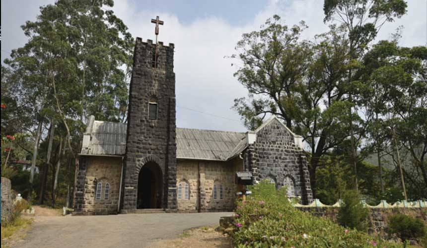 British church: Historic Monument in Munnar